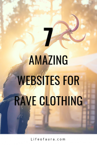 It's festival season! The most exciting season of the year. Now all you need is the perfect outfit. These 7 websites have amazing outfits to choose from! #ravewear #rave #festivalseason #festivals #raveoutfits #festivaloutfits
