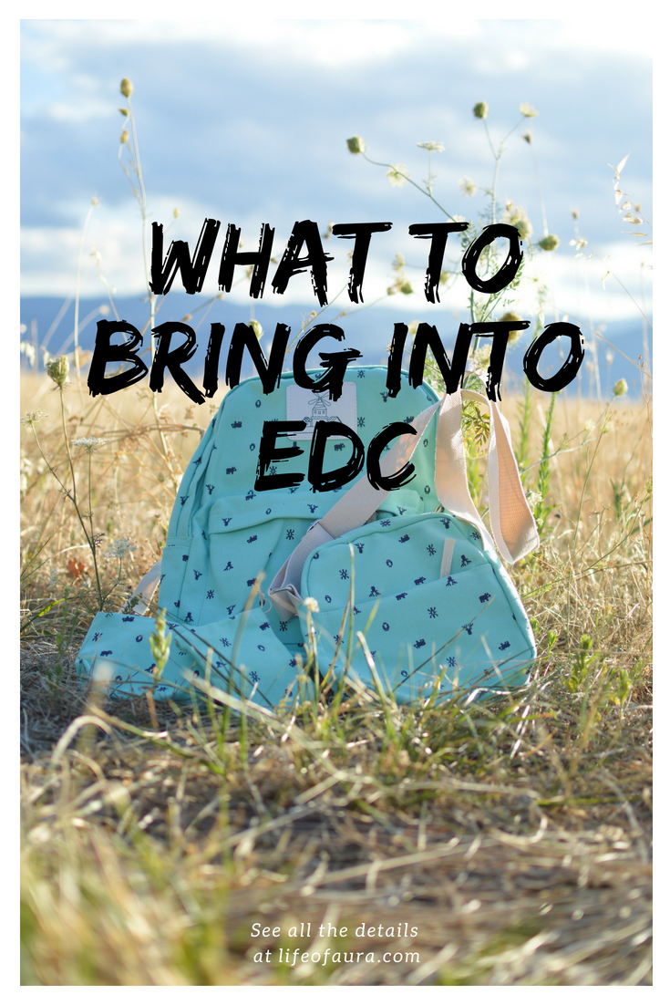 Do you know what you should be bringing to EDC? Check out our list of must haves. #EDCLV2018 #EDC #rave #festivalseason #musthaves