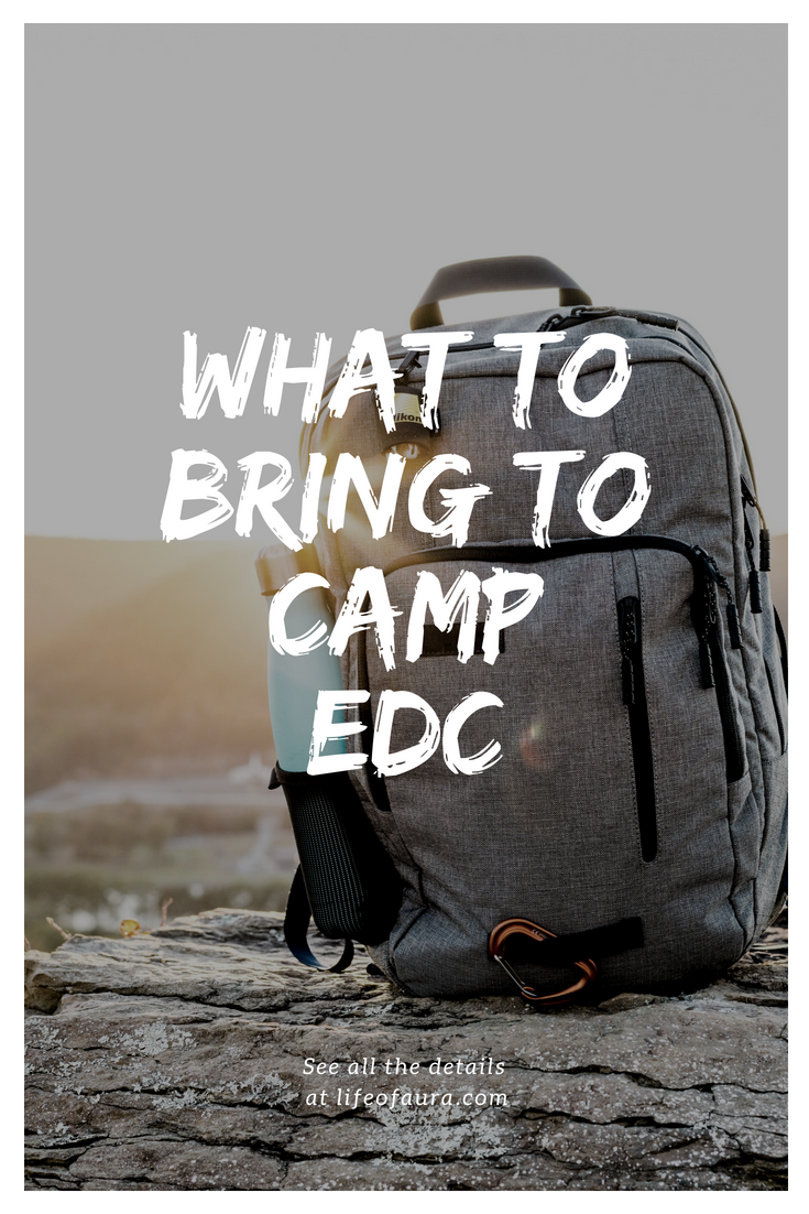Already packing your bags for EDC Vegas? Do you know what you should bring to Camp EDC? Check out these lists of what to bring to Camp EDC. #EDC #EDCLV2018 #festivalseason #CampEDC