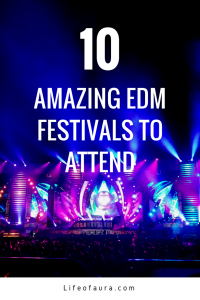 Can't decide on what EDM festival to go to next? Well check out the top 10 at lifeofaura.com. #rave #festivalseason #festivals #edm