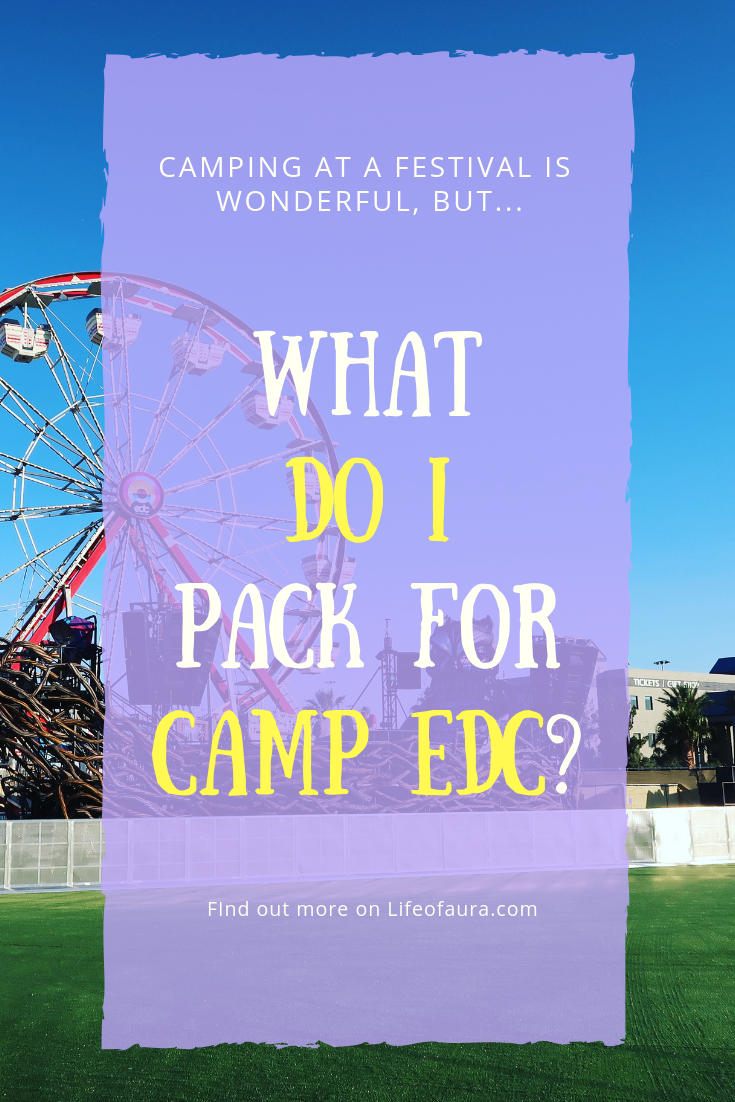 Festival season is amazing and EDC Vegas is legendary, but what do you need to pack for Camp EDC? #festivalseason #rave #festival #EDCVegas #EDC