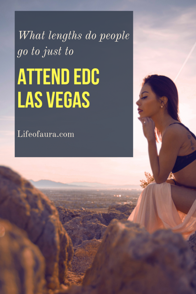 EDC Las Vegas means the world to so many people and they won't let anything stop them from getting there. #edc #edclv #edcvegas #festival #edm