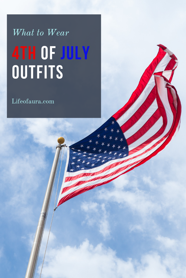 are your outfits ready of the 4th of July? Not quite? Well check out these ideas to find your bold red, white, and blue look. #4thofjuly #redwhiteandblue #outfitideas